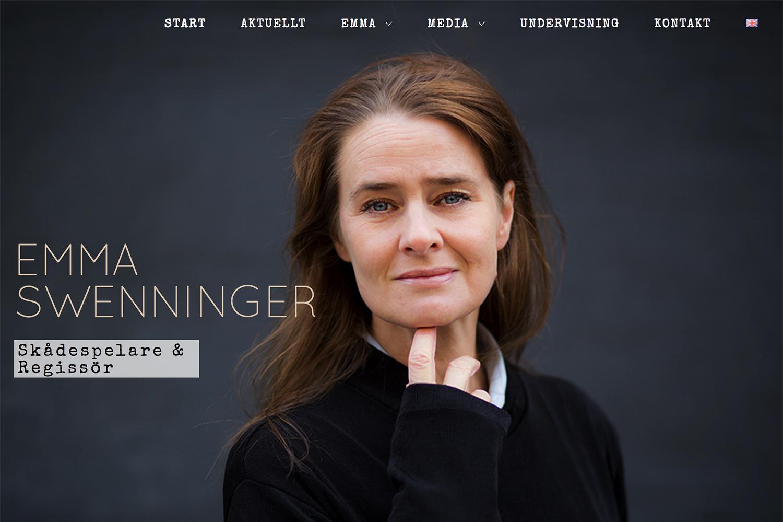 Emma Swenninger - Skådespelare och regissör