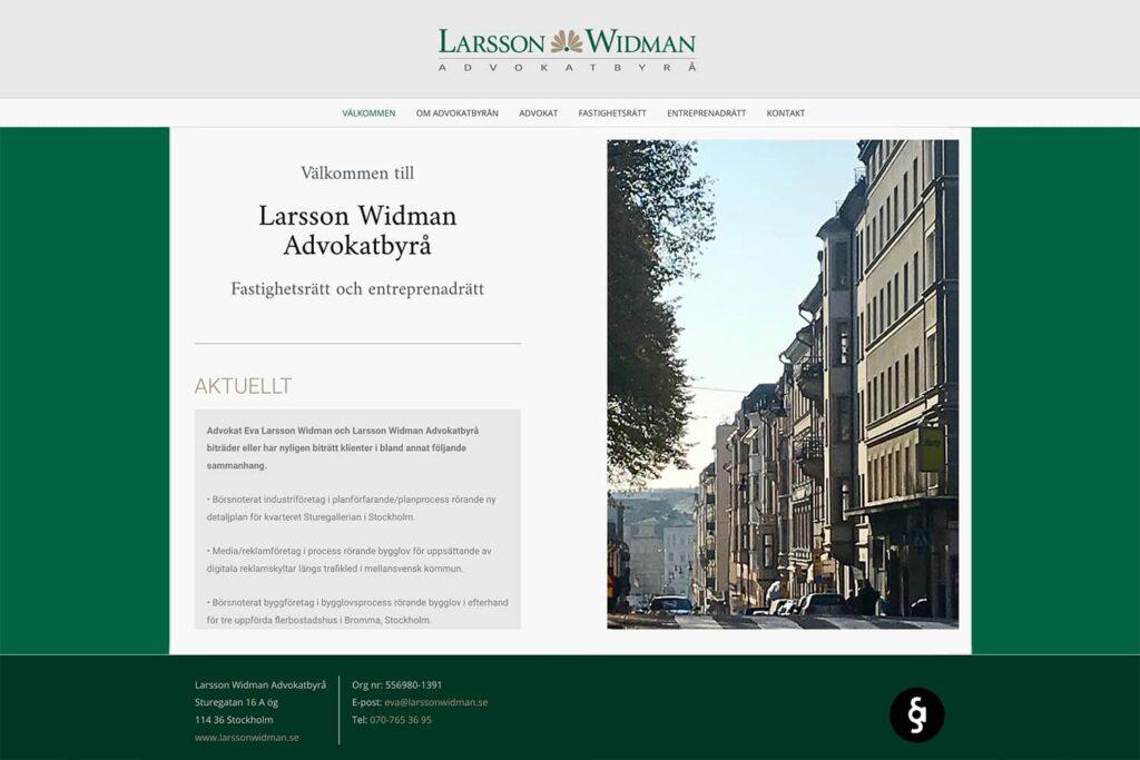 Larsson Widman Advokatbyrå