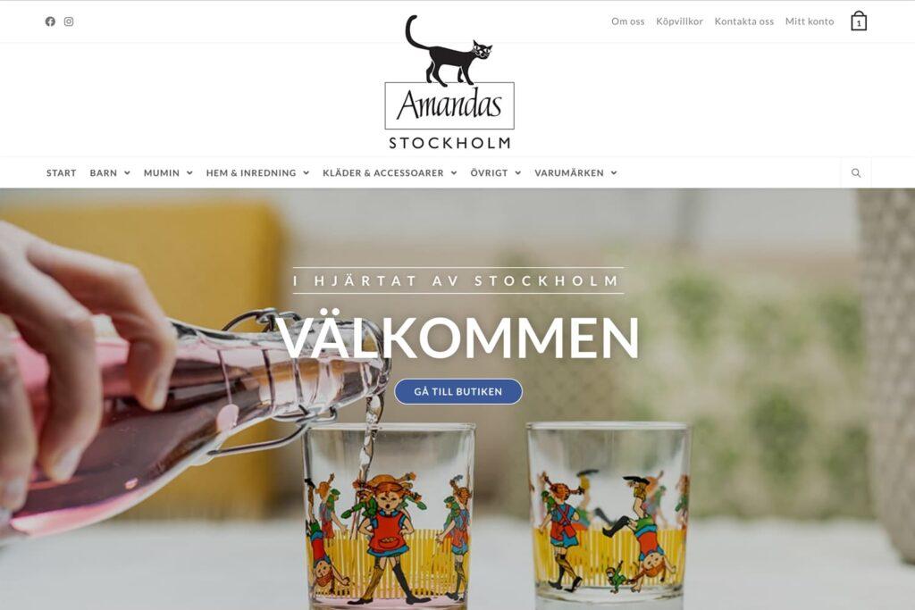 Amandas Stockholm